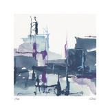 City Indigo II Limited edition van Chris Paschke