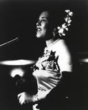 Billie Holiday in Gown singing Foto von  Movie Star News