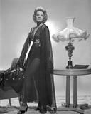Angie Dickinson standing wearing Dress Black and White Fotografia por  Movie Star News