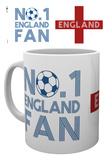 England - Number 1 Fan Mug Krus