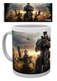 Gears Of War 4 - Keyart 3 Mug Tazza