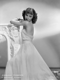 Barbara Stanwyck Side View in Wedding Dress Classic Portrait Photo by ER Richee