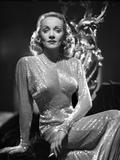 Marlene Dietrich Portrait wearing Glossy Dress with Sleeves Foto von AL Schafer