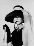 Audrey Hepburn, Aamiainen Tiffanylla Valokuva tekijänä  Movie Star News