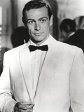 Sean Connery Posed in Tuxedo with Black Bow Tie- Photograph Print Photo by  Movie Star News