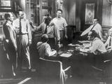 Twelve Angry Men Movie Scene in a Room with Men Arguing Fotografia por  Movie Star News