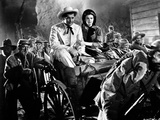 Gone With The Wind Couple Riding Carousel Movie Scene Photographie par  Movie Star News
