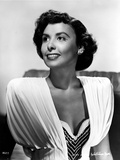 Lena Horne in White Dress in Black and White Outfit Foto von  Movie Star News