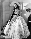 Gone With The Wind Scarlett O'Hara Side View Posed Foto van  Movie Star News