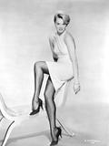 Angie Dickinson Posed in Dress Black and White Fotografia por  Movie Star News