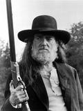 Willie Nelson in Black Coat Close Up Portrait Foto af  Movie Star News