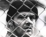 Jack Nicholson in Crochet Hat Behind the Wire Fence Photo by  Movie Star News