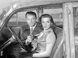 Las Vegas Story Holding Pistol Couple Portrait Fotografia por  Movie Star News