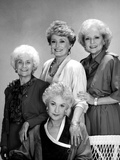 Golden Girls Group Portrait Black and White Photo by  Movie Star News