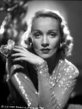 Marlene Dietrich Posed in Glossy Classic Sweater Photo by AL Schafer