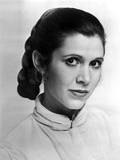 Carrie Fisher in Turtle Neck Blouse Photo by  Movie Star News