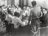 Twelve Angry Men Conference Room Scene Fotografia por  Movie Star News