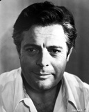 Marcello Mastroianni Posed in White Shirt Photo by  Movie Star News