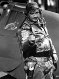 John Belushi in Army Outfit With Pistol Photographie par  Movie Star News