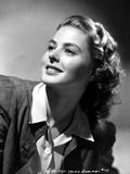 Ingrid Bergman wearing a Black Jacket Photo by A.L. Schafer