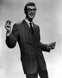 Buddy Holly Group Picture in Black Suit Foto af  Movie Star News