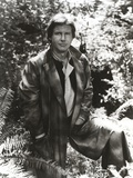 Harrison Ford in a Leather Jacket Photo by  Movie Star News