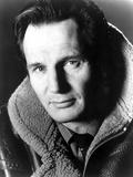 Liam Neeson in Fur Coat Portrait Foto av  Movie Star News