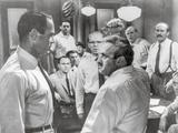 Twelve Angry Men Fight Scene Fotografia por  Movie Star News