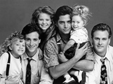 Full House Main Cast Portrait Photo by  Movie Star News
