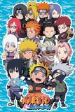 Naruto Shippuden- Chibi Characters Prints