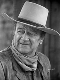 John Wayne Poses with a Hat Foto di David Sutton