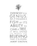 Everybody is a Genius Affiches par Veruca Salt
