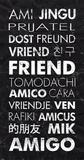 Friend in Different Languages Pósters por Veruca Salt