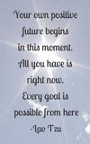 Every Goal Is Possible Poster di Veruca Salt