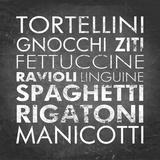 Pasta I Square Plakater af Veruca Salt