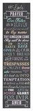 The Lord's Prayer - Chalkboard Posters by Veruca Salt