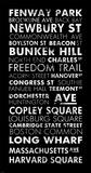 Boston Cities II Print by Veruca Salt