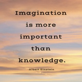 Imagination quote Arte por Veruca Salt