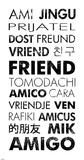 Friend Languages Láminas por Veruca Salt