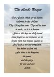 The Lord's Prayer - Beach Prints by Veruca Salt