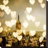 I Love NY II Opspændt lærredstryk af Kate Carrigan