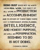 Seeming to Do is Not Doing -Albert Einstein Prints by Veruca Salt