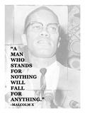 A Man Who Stands for Nothing Poster av Veruca Salt