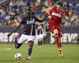 Mls: Chicago Fire at New England Revolution Foto af Winslow Townson