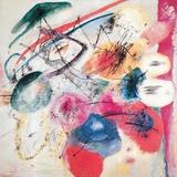 Black Lines Giclée-tryk af Wassily Kandinsky