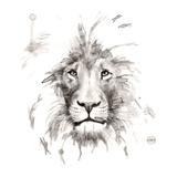 Lion Stampa di Philippe Debongnie
