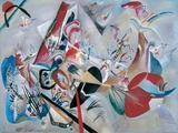 Dans le gris Giclee-trykk av Wassily Kandinsky