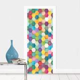 Funny Colours Door Mural Tapettijuliste