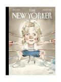 The New Yorker Cover - June 20, 2016 Reproduction giclée Premium par Barry Blitt