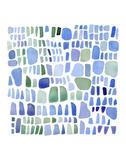 Series Sea Glass No. IV Kunstdrucke von Louise van Terheijden